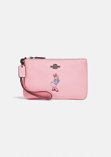 disney x coach small wristlet with daisy duck...