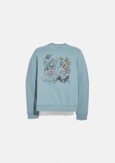 Coach doodle dream sweatshirt