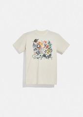 Coach doodle dream t-shirt