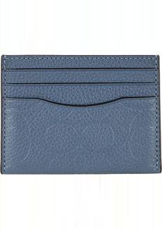 Coach Flat Card Case in Signature Leather