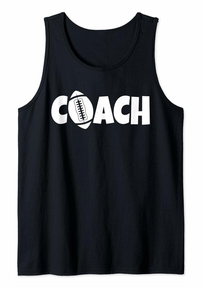 Football Coach Lead Mentor Coaching Tank Top
