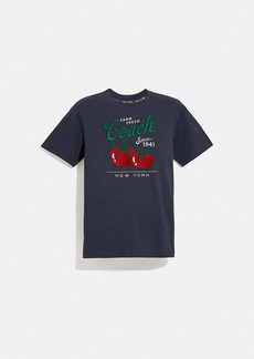 Coach garden print t-shirt