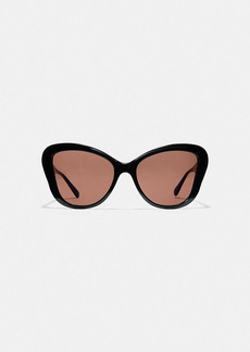 Coach horse and carriage butterfly sunglasses