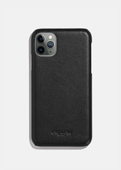 Coach iphone 11 pro case