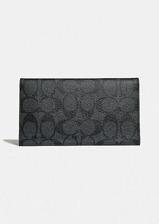 Coach large universal phone case in signature canvas