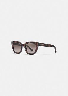 Coach legacy stripe square sunglasses