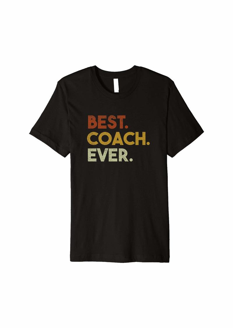 Mens Best Coach Ever Gift for Sports Coach Premium T-Shirt