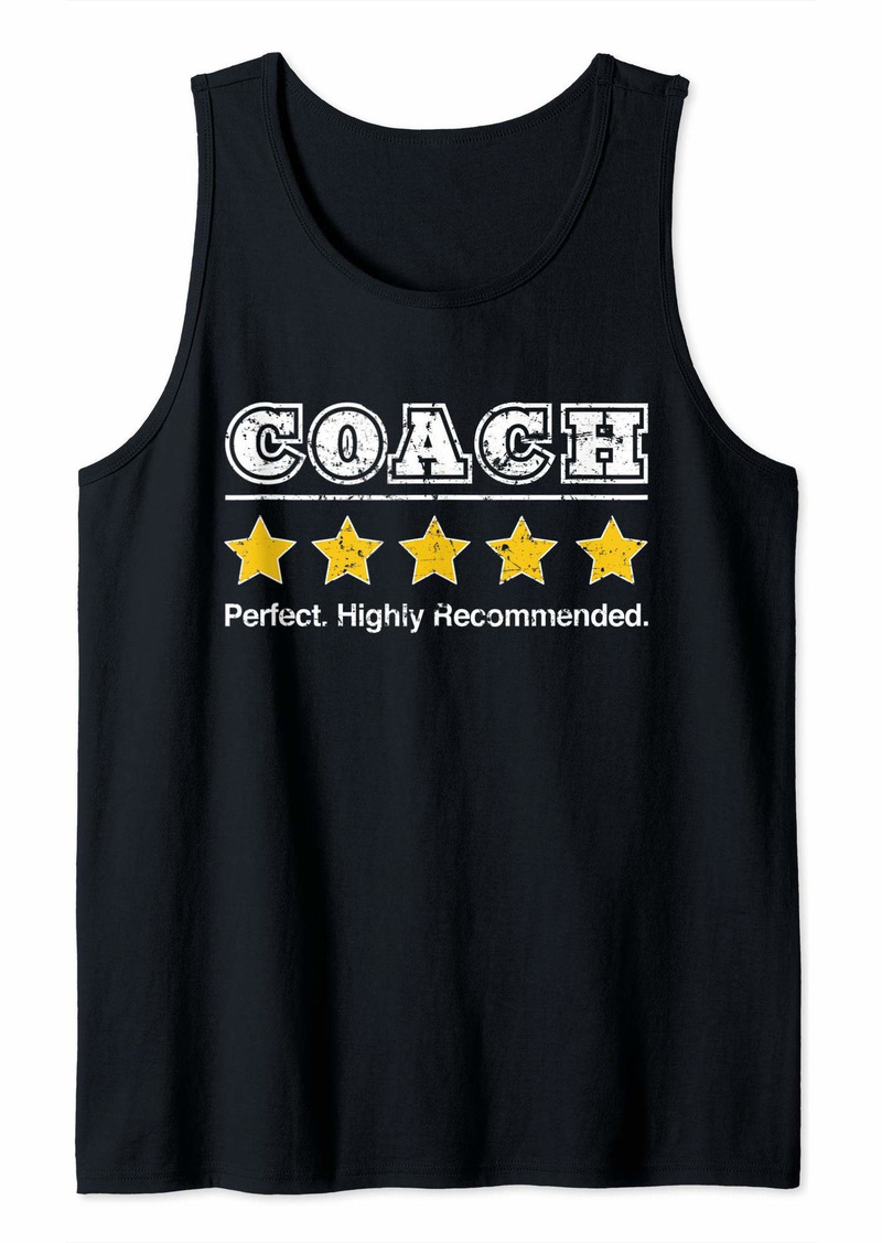 Mens Coach 5 Star Review. Perfect Recommended Gift for Coach Tank Top