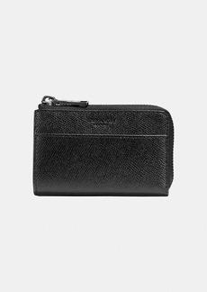 Coach zip key case