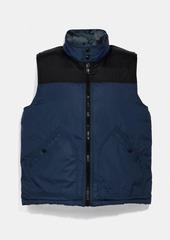 Coach reversible down vest