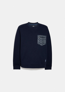 Coach signature essential sweatshirt