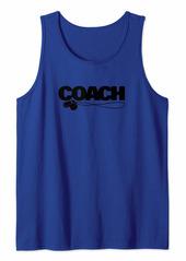Soccer Baseball Basketball Coach Whistle Women Men Gift Tank Top
