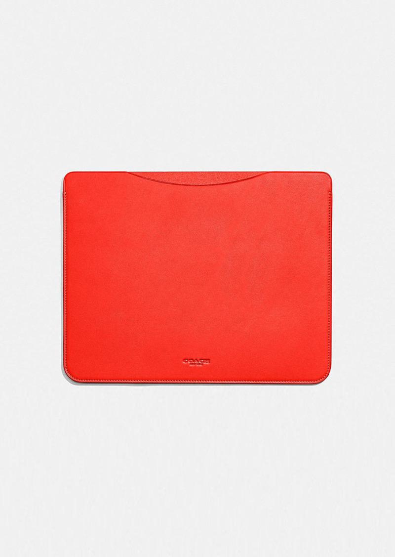 Coach tablet sleeve