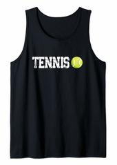 Coach Tennis Sport Trainer Racket Tank Top