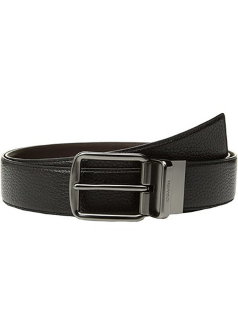 Coach Wide Reversible Belt