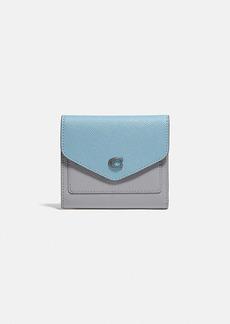 Coach wyn small wallet in colorblock
