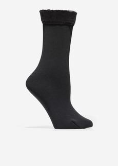 Cole Haan 2 Pair Plush Boot Socks