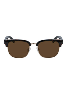 Cole Haan 53mm Mixed Media Square Sunglasses