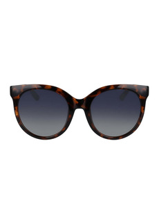 Cole Haan 53mm Oversized Round Sunglasses