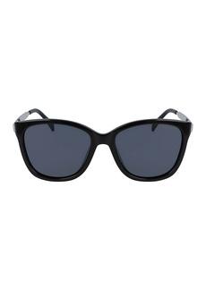 Cole Haan 57mm Sleek Square Sunglasses