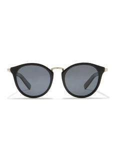 Cole Haan Cat-Eye 50mm Round Polarized Sunglasses