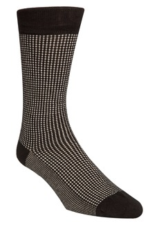 Cole Haan Check Dress Socks
