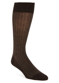 Cole Haan Geometric Dress Socks
