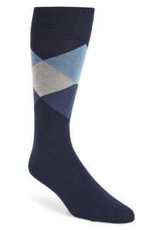 Cole Haan Large Diamond Crew Socks
