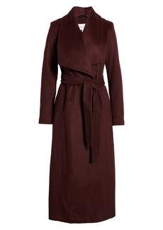 Cole Haan Signature Slick Wool Blend Wrap Coat (Women)