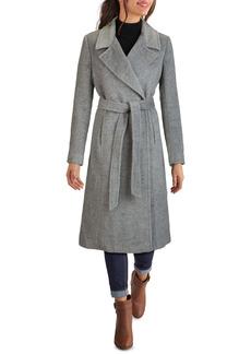 Cole Haan Signature Wool & Alpaca Blend Wrap Coat