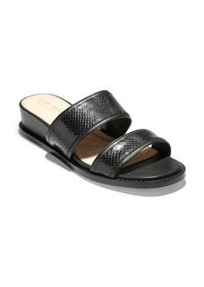 Cole Haan Wesley Demi Wedge Slide Sandal