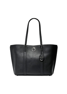 Cole Haan Large Turnlock Leather Tote