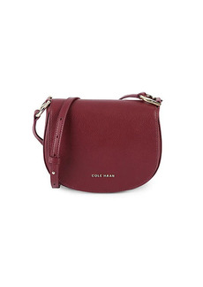Cole Haan Leather Crossbody Saddle Bag