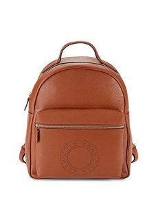 Cole Haan Logo Leather Backpack