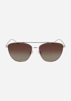 Cole Haan Metal Rectangle Sunglasses
