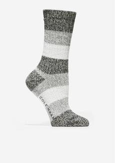 Cole Haan Plush Twist Crew Socks