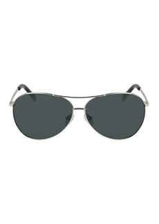 Cole Haan Polarized 61mm Aviator Sunglasses