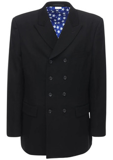 Comme des Garçons Double Breasted Wool Formal Jacket