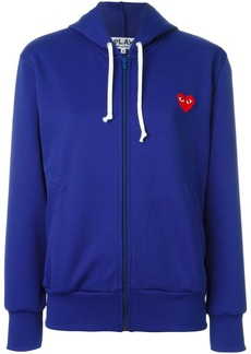 Comme des Garçons embroidered heart hoodie