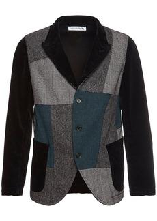 Comme des Garçons Patchwork Cotton & Wool Jacket