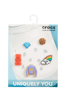 CROCS™ 5-Pack Get Over It Jibbitz Shoe Charms (Women)