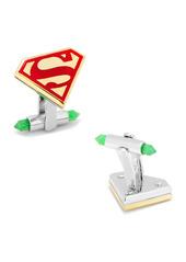 Cufflinks Inc. 3D Gold-Plated Superman Cuff Links