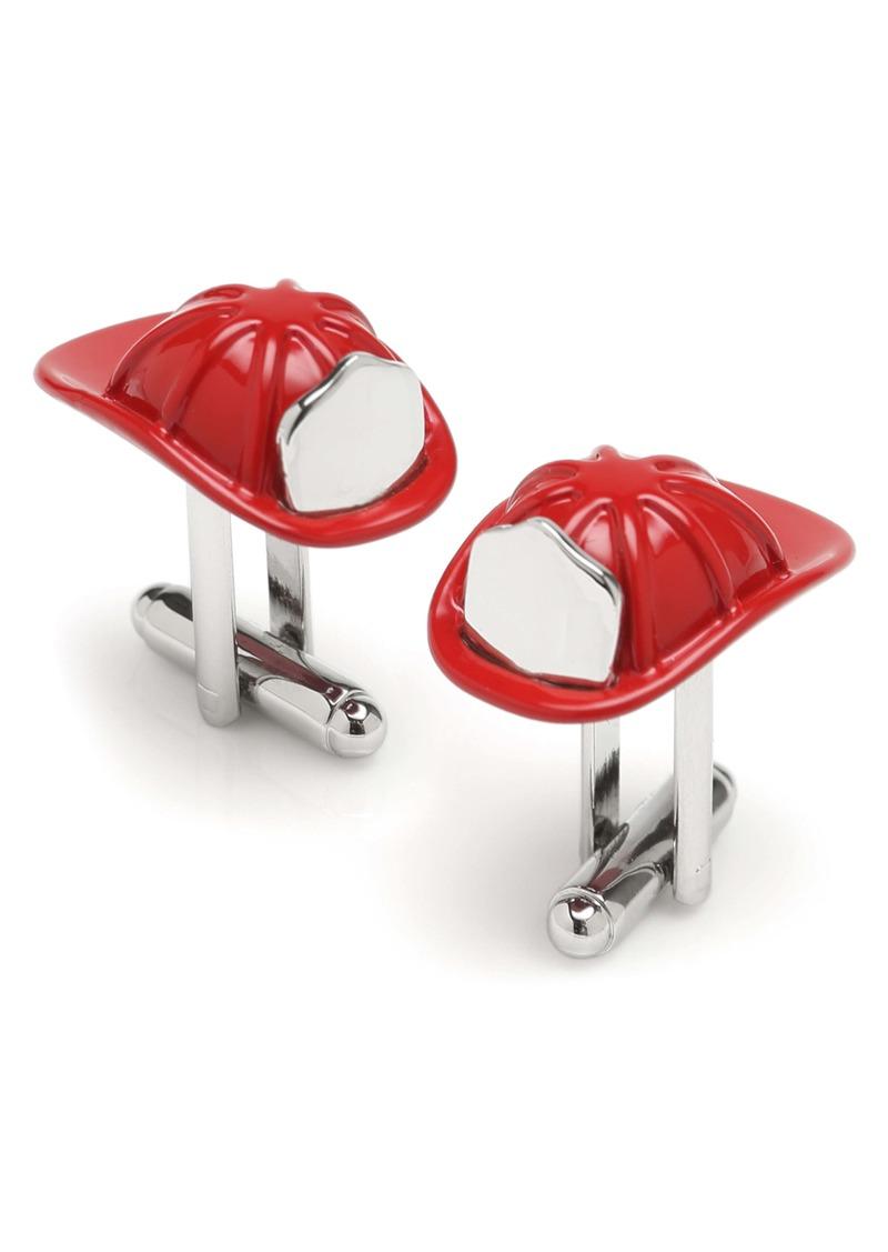 Cufflinks Inc. Cufflinks, Inc. 3D Fireman Hat Cuff Links
