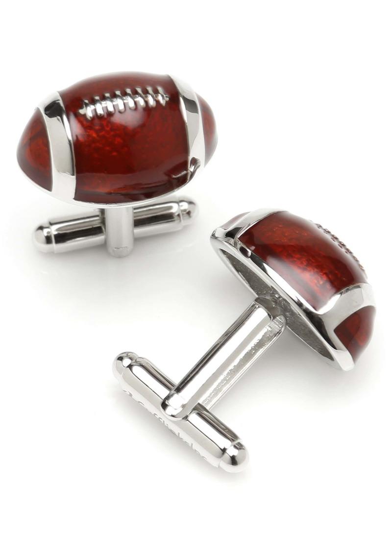 Cufflinks Inc. Cufflinks, Inc. 3D Football Cuff Links