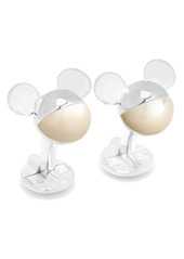 Cufflinks Inc. Cufflinks, Inc. 3D Mother-Of-Pearl Mickey Mouse Cuff Links
