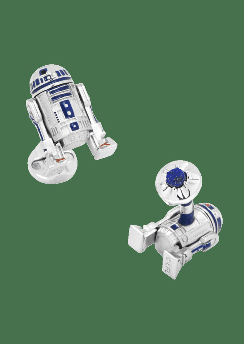 Cufflinks Inc. 3D Star Wars R2-D2 Cuff Links