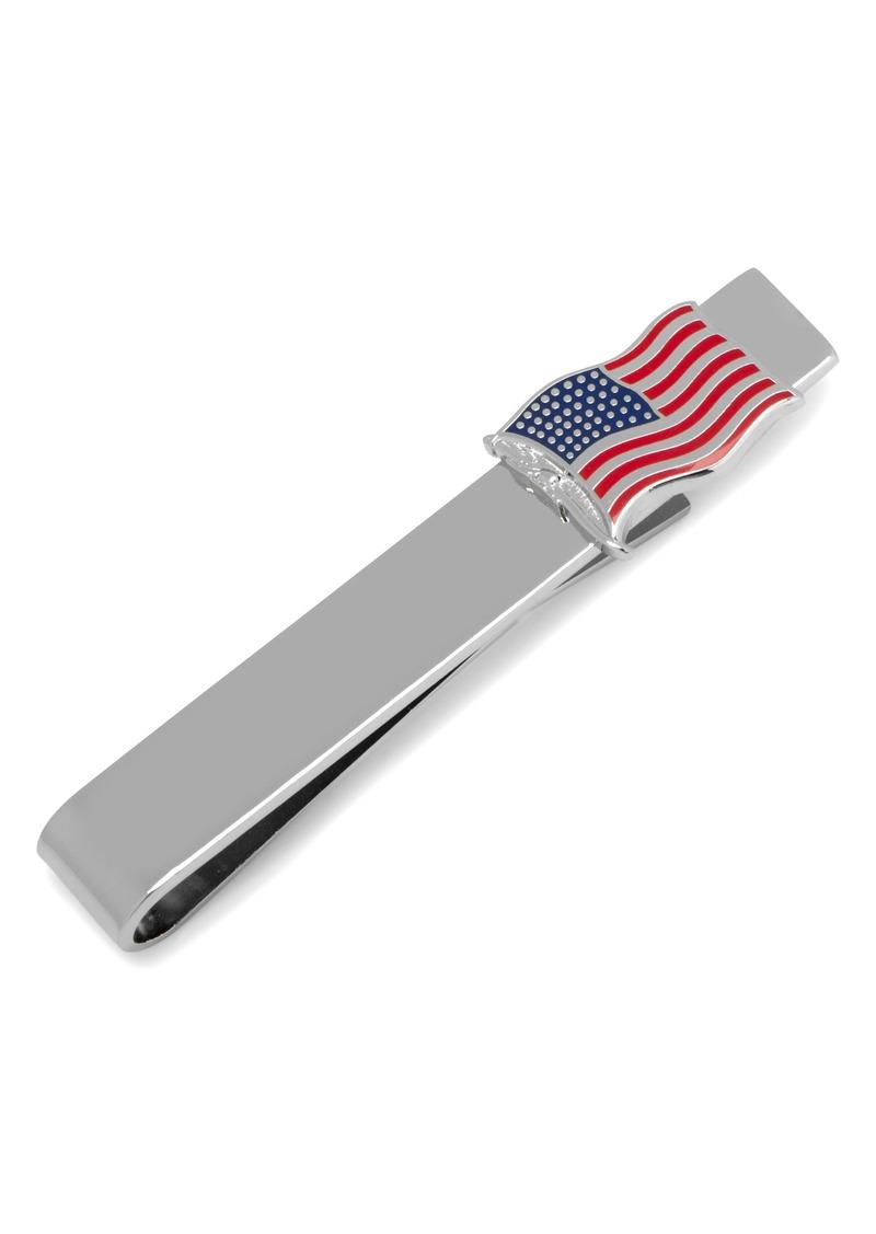 Cufflinks Inc. American Flag Tie Bar