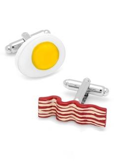 Cufflinks Inc. Cufflinks, Inc. Bacon & Eggs Cuff Links