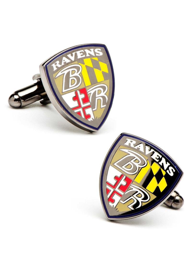 Cufflinks Inc. Cufflinks, Inc. 'Baltimore Ravens' Cuff Links