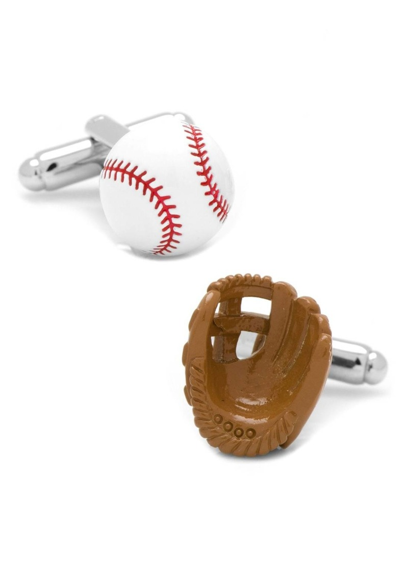 Cufflinks Inc. Cufflinks, Inc. Baseball & Glove Cuff Links
